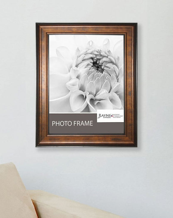 American Made Rayne Bronze and Black Picture Frame (F15) *Suggested Retail*