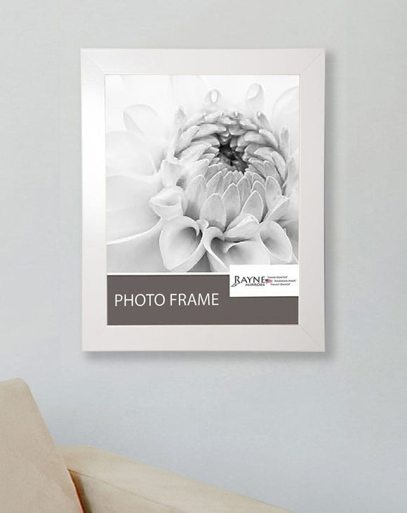 American Made Rayne Glossy White Picture Frame (F21) *Suggested Retail*