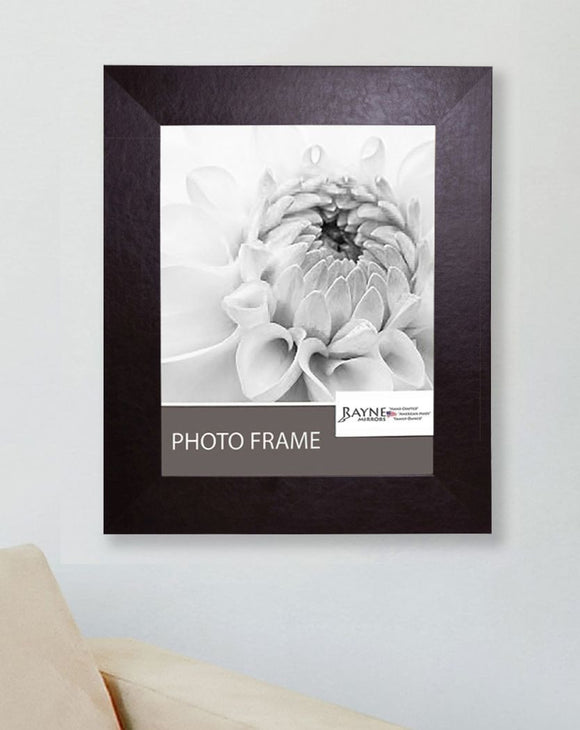 American Made Rayne Wide Brown Leather Picture Frame (F22) *Suggested Retail*