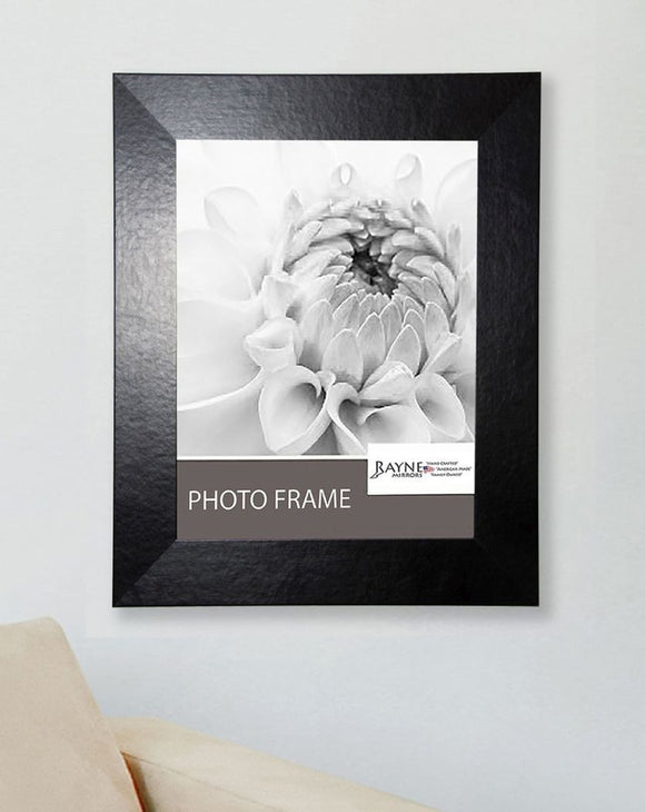 American Made Rayne Black Wide Leather Picture Frame (F37) *Suggested Retail*