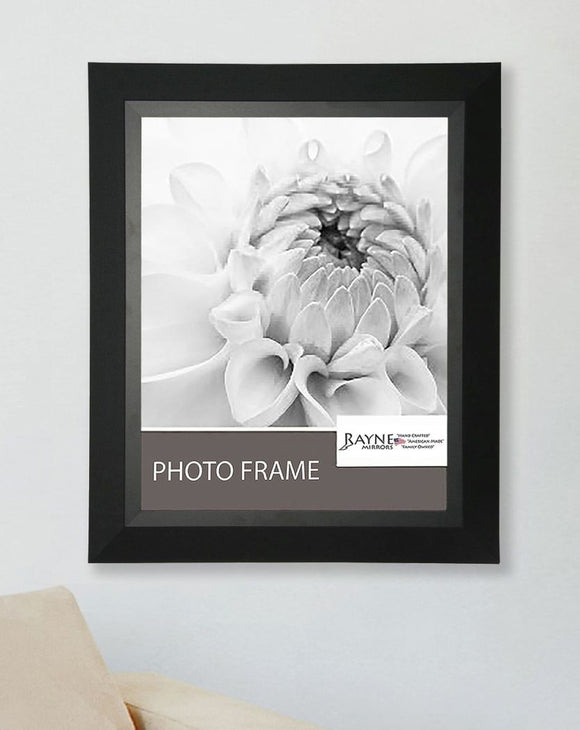 American Made Rayne Attractive Matte Black Picture Frame (F53) *Suggested Retail*
