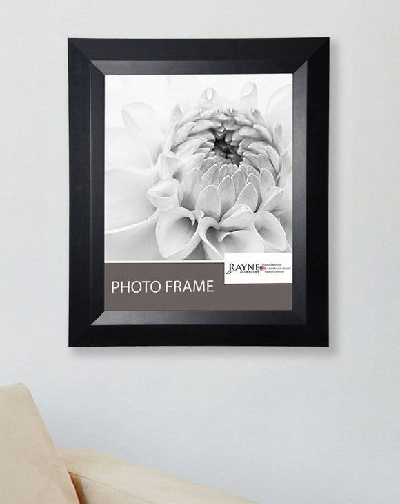 American Made Rayne Solid Black Angle Picture Frame (F09) *Suggested Retail*