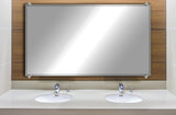 "American Made Beveled Frameless Rectangular Wall Mirror (B-1/4-FRMLS-CHRM OVAL-36"") *Suggested Retail*"