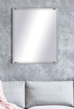 "American Made Beveled Frameless Rectangular Wall Mirror (B-1/4-FRMLS-CHRM OVAL-31"") *Suggested Retail*"