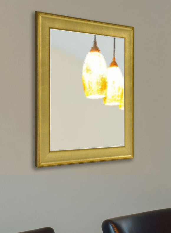 American Made Rayne Vintage Gold Wall Mirror (V057) *Suggested Retail*
