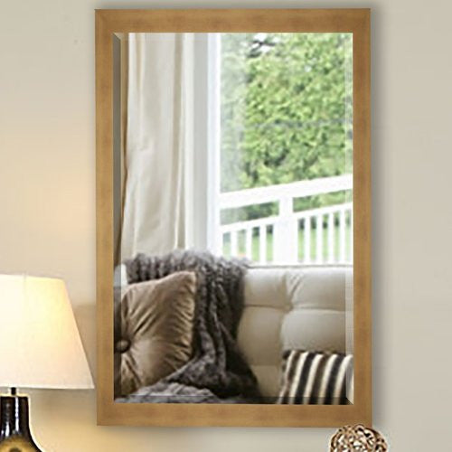 American Made Rayne Hushed Golden Sunset Beveled Wall Mirror (R094) *Suggested Retail*
