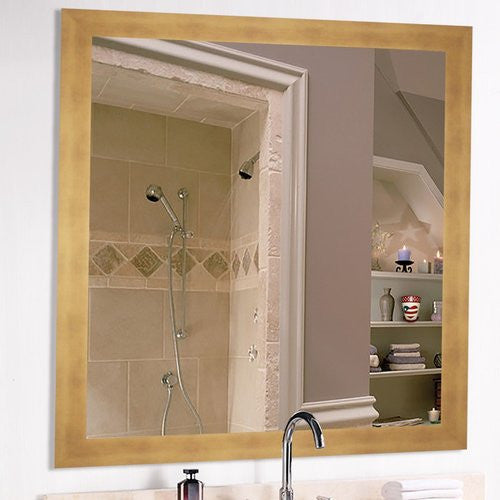 American Made Rayne Hushed Golden Sunset Square Wall Mirror (V094) *Suggested Retail*