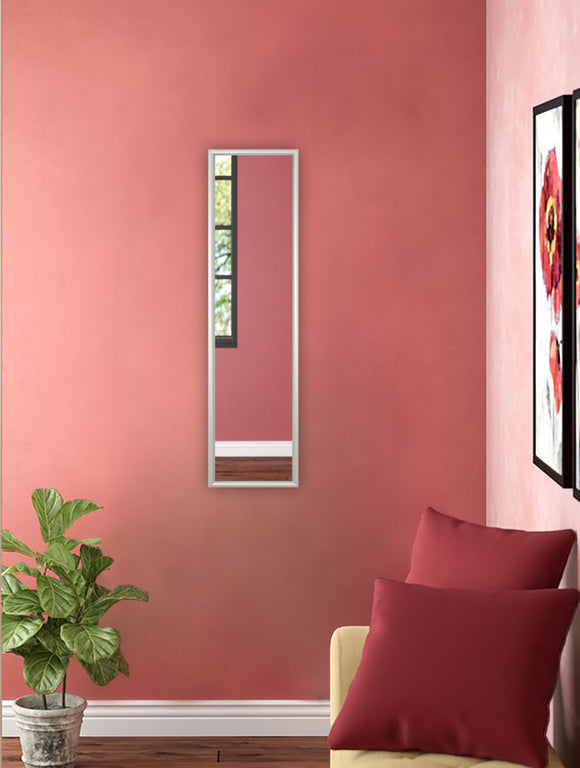 American Made Rayne Foxtrot Satin Silver Wide Panel Mirror (AP006) *Suggested Retail*