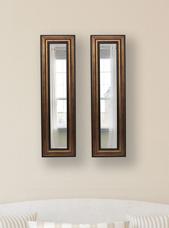 American Made Rayne Canyon Bronze Panel Mirror (P29 Set of 2) *Suggested Retail*