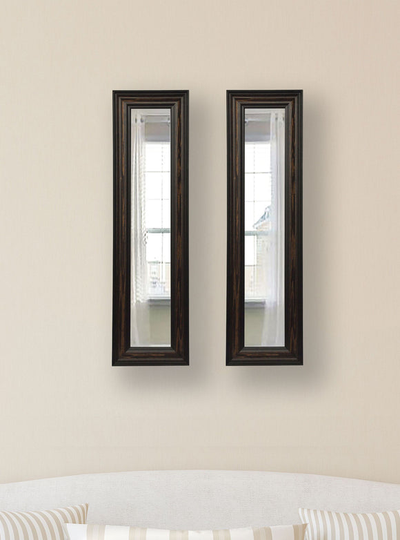 American Made Rayne American Walnut Panel Mirror (P30 Set of 2) *Suggested Retail*
