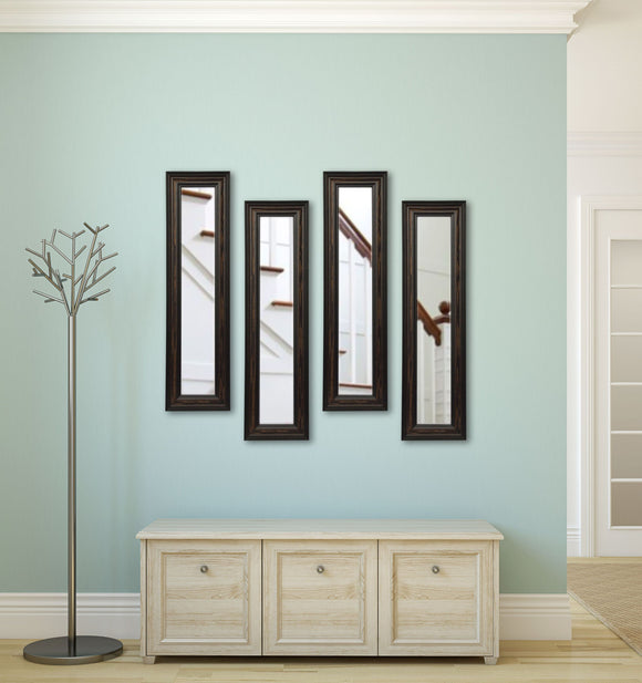 American Made Rayne American Walnut Panel Mirror (P30 Set of 4) *Suggested Retail*