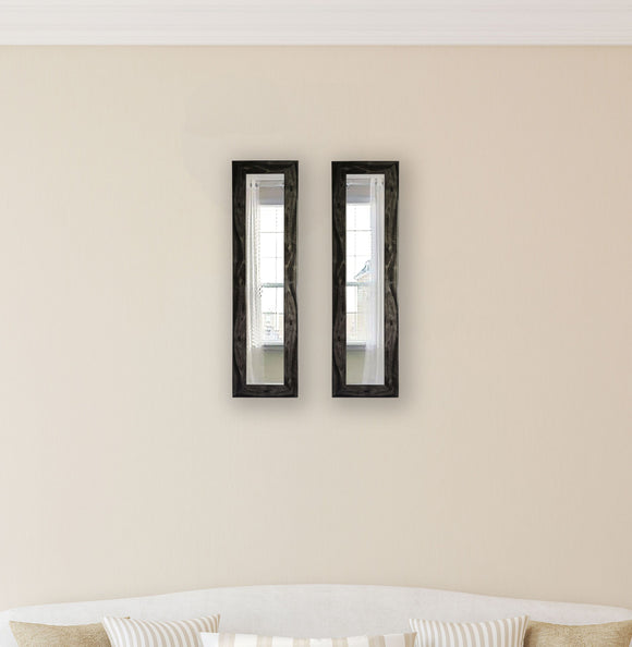 American Made Rayne Black Smoke Panel Mirror (P45 Set of 2) *Suggested Retail*