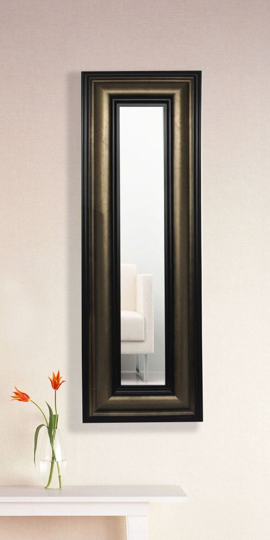 American Made Rayne Stepped Antiqued Panel Mirror (P07) *Suggested Retail*