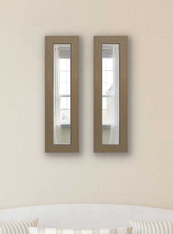 American Made Rayne Champagne Colville Panel Mirror (P81 Set of 2) *Suggested Retail*