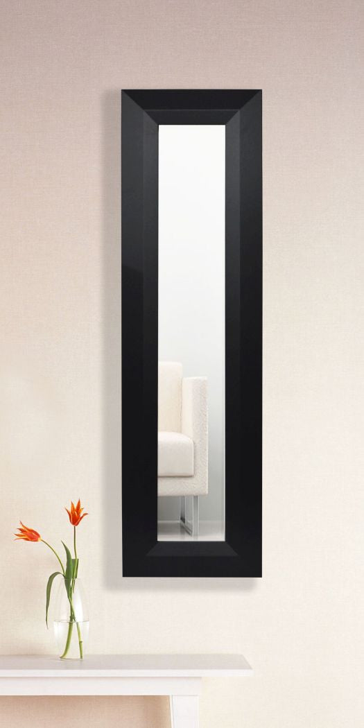 American Made Rayne Solid Black Angle Panel Mirror (P09) *Suggested Retail*