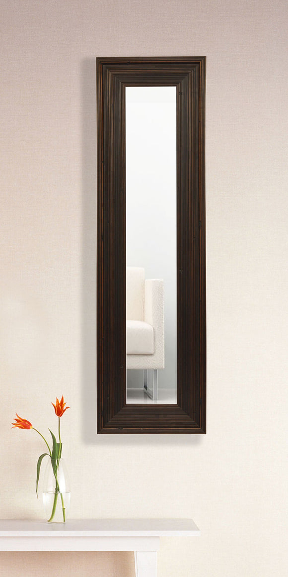 American Made Rayne Barnwood Brown Panel Mirror (P17) *Suggested Retail*