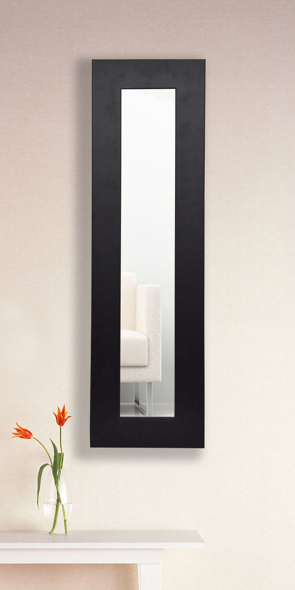 American Made Rayne Black Satin Wide Mirror Panel - P35 ~Suggested Retail~