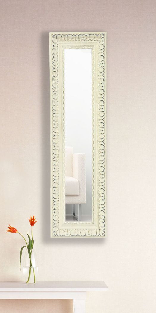 American Made Rayne French Victorian White Panel Mirror (P39) *Suggested Retail*
