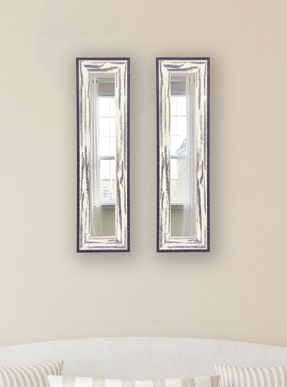 American Made Rayne Rustic Seaside Panel Mirror (P40 Set of 2) *Suggested Retail*