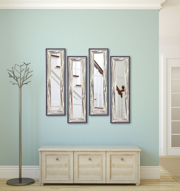 American Made Rayne Rustic Seaside Panel Mirror (P40 Set of 4) *Suggested Retail*