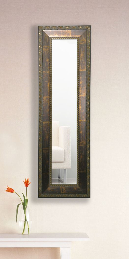 American Made Rayne Roman Copper Bronze Panel Mirror (P41) *Suggested Retail*