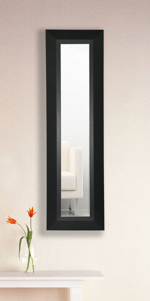 American Made Rayne Attractive Matte Black Mirror Panel - P53 ~Suggested Retail~