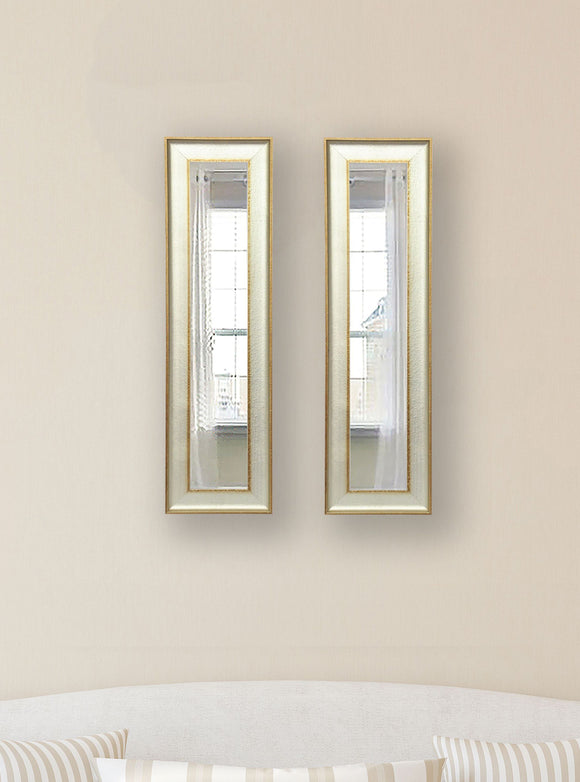 American Made Rayne Vintage Panel Mirror (P55 Set of 2) *Suggested Retail*