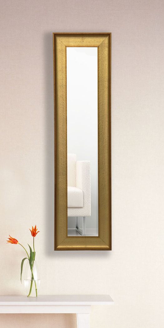 American Made Rayne Vintage Gold Mirror Panel   P57  Suggested Retail. All   Rayne Mirrors Inc