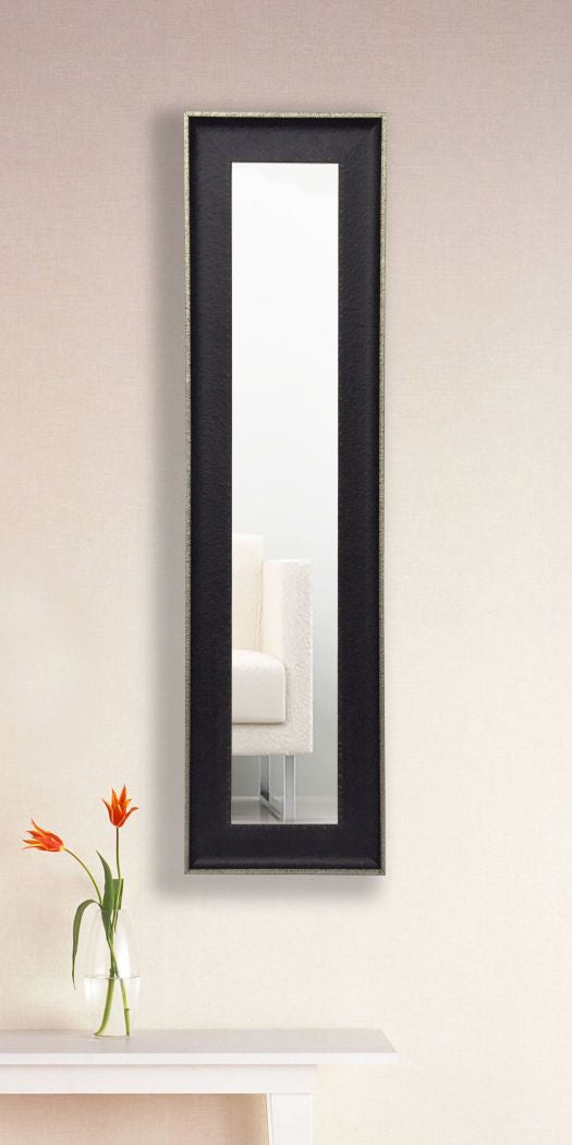 American Made Rayne Vintage Black Panel Mirror (P58) *Suggested Retail*