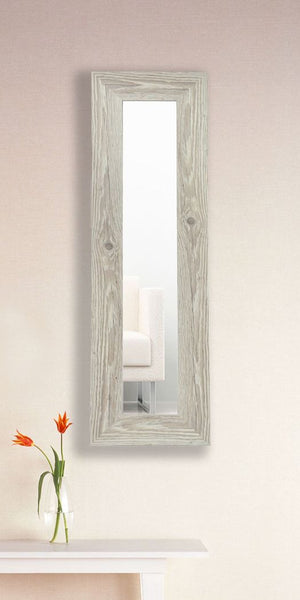 American Made Rayne White Washed Antique Mirror Panel - P59 ~Suggested Retail~