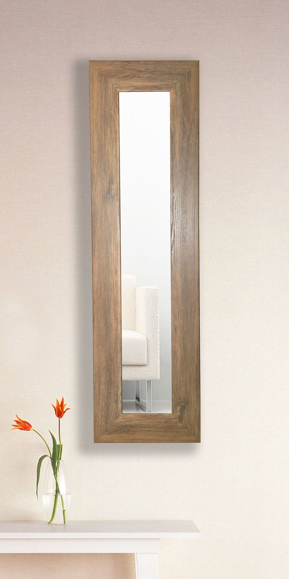 American Made Rayne Brown Barnwood Panel Mirror (P63) *Suggested Retail*