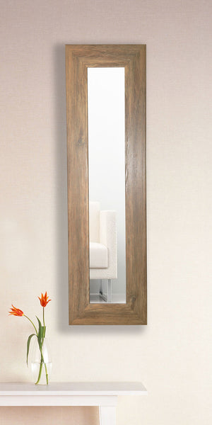 American Made Rayne Brown Barnwood Mirror Panel - P63 ~Suggested Retail~