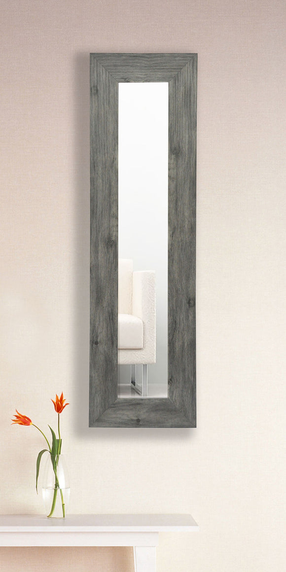 American Made Rayne Grey Barnwood Panel Mirror (P64) *Suggested Retail*