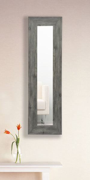 American Made Rayne Grey Barnwood Mirror Panel - P64 ~Suggested Retail~