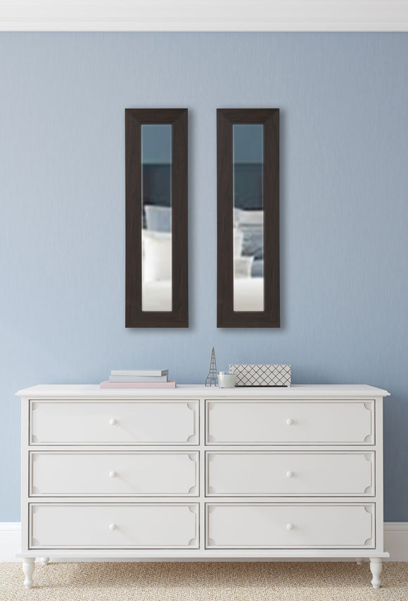 American Made Rayne Black Walnut Panel Mirror (P68 Set of 2) *Suggested Retail*