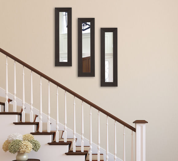 American Made Rayne Black Walnut Panel Mirror (P68 Set of 3) *Suggested Retail*