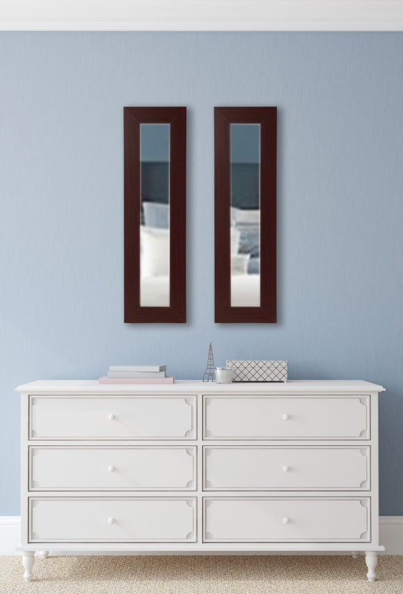 American Made Rayne Dark Mahogany Mirror Panel - P76 (Set 2) ~Suggested Retail~