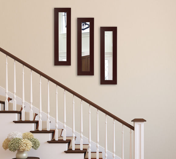 American Made Rayne Dark Mahogany Mirror Panel - P76 (Set 3) ~Suggested Retail~