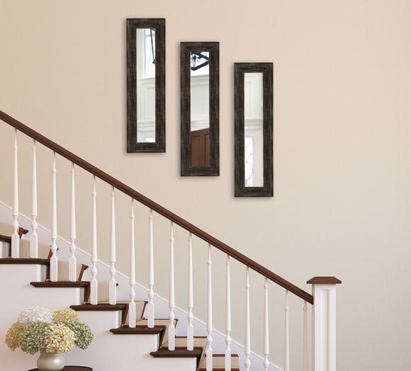 American Made Rayne Brushed Classic Brown Panel Mirror (P77 Set of 3) *Suggested Retail*