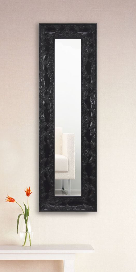 American Made Rayne Black Endicott Single Panel Mirror - (P80) ~Suggested Retail~