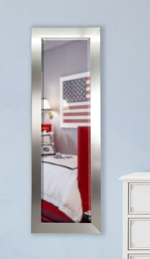 American Made Rayne Silver Wide Slender Body Mirror (V003TS or R003TS) *Suggested Retail*