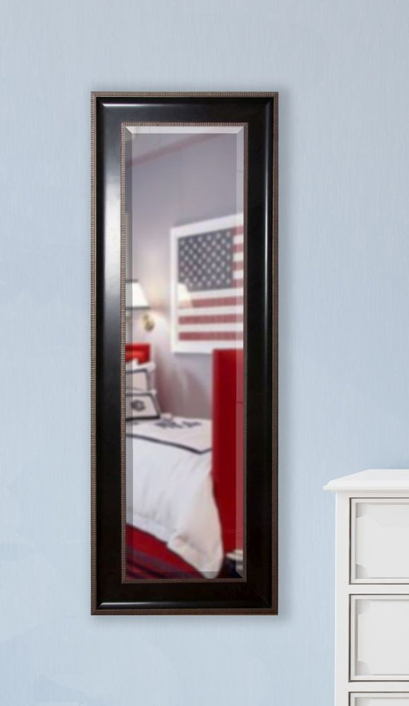 American Made Rayne Black with Silver Trim Body Mirror (V008TS or R008TS) *Suggested Retail*