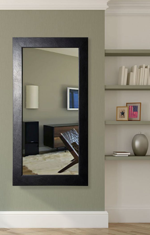 American Made Rayne Black Superior Tall Mirror Size 30x65 - R012T ~Suggested Retail~