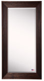American Made Rayne Barnwood Brown Extra Tall Mirror (R017XT) *Suggested Retail*