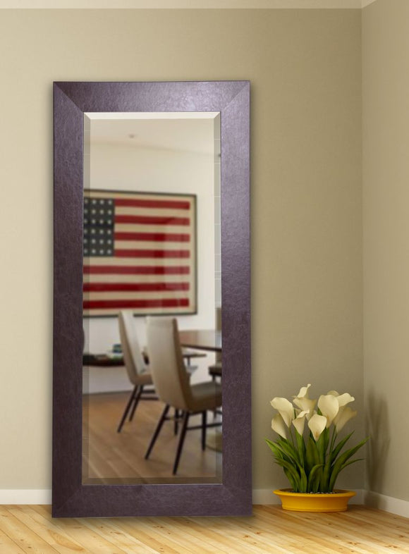 American Made Rayne Wide Brown Beveled Tall Mirror (R022BT) *Suggested Retail*