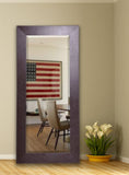 American Made Rayne Wide Brown Extra Tall Floor Mirror (R022XT) *Suggested Retail*
