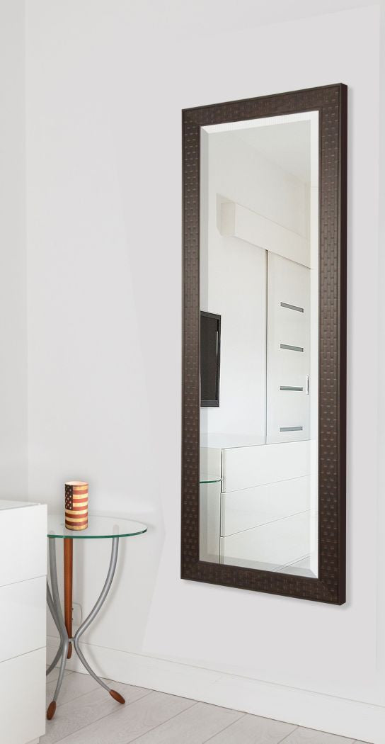 American Made Rayne Espresso Bricks Body Mirror (V026TM or R026TM) *Suggested Retail*