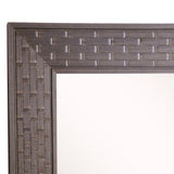 American Made Rayne Espresso Bricks Beveled Wall Mirror (R026) *Suggested Retail*