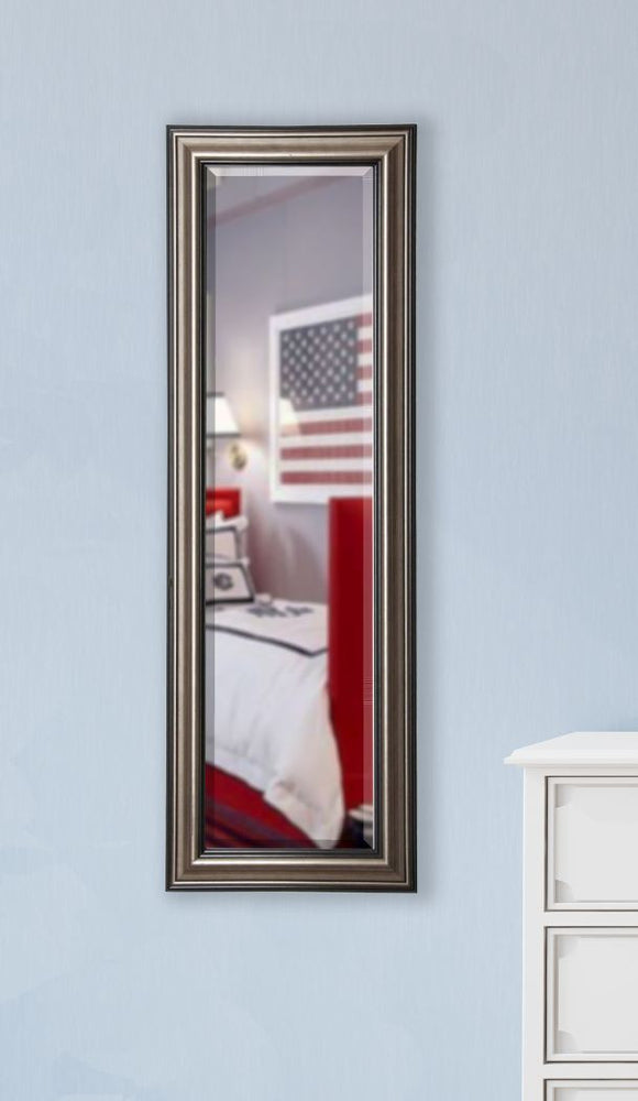 American Made Rayne Antique Silver Body Mirror (V028TS or R028TS) *Suggested Retail*
