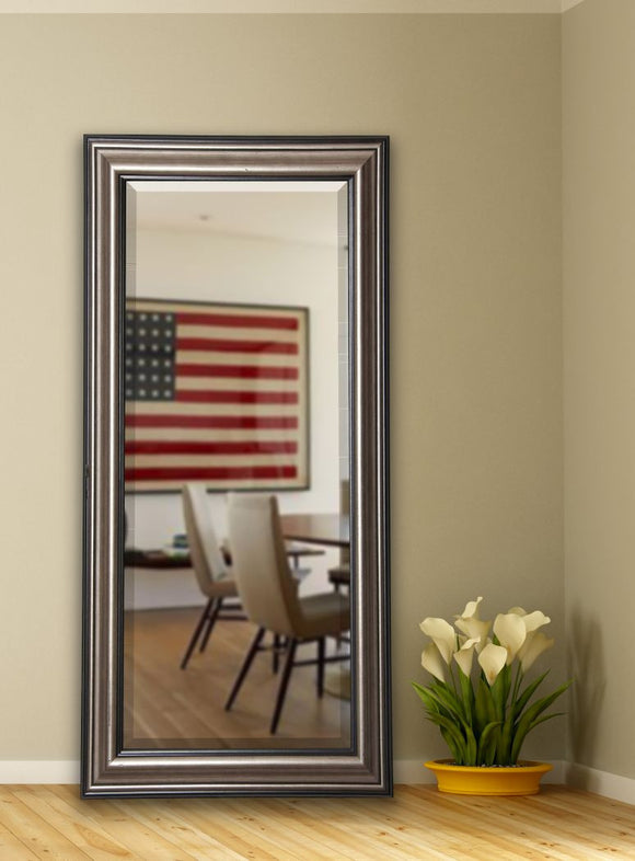 American Made Rayne Antique Silver Extra Tall Mirror (R028XT) *Suggested Retail*